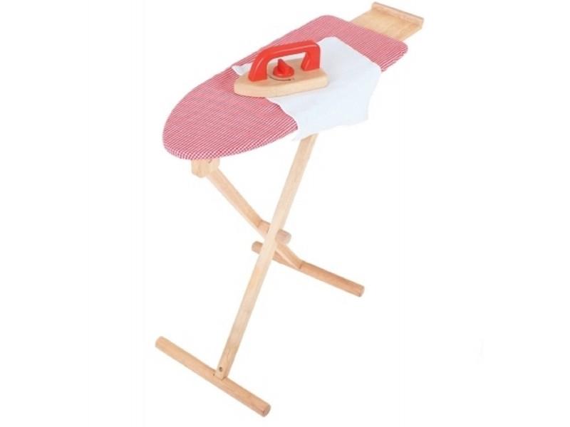 BigJigs Ironing Set - Red