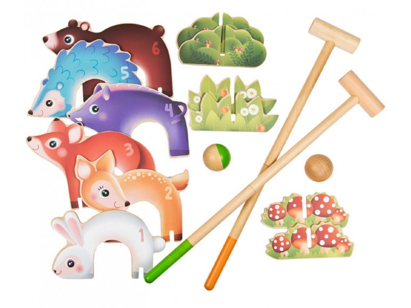 forest animals croquet set forest - Croquet Set