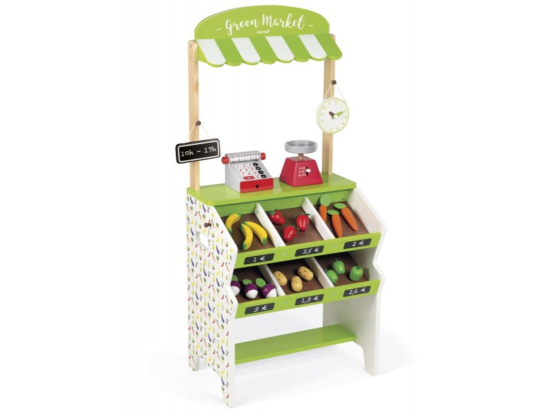 Image result for green market grocery shop playset