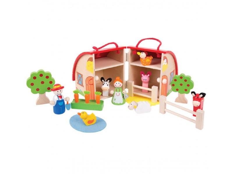 BigJigs Mini Farm Playset