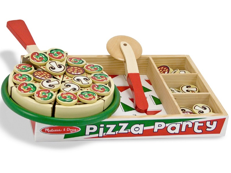 Pizza Party - Wooden Play Food Set