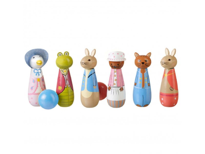 Wooden Peter Rabbit Skittles
