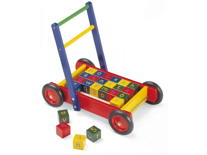 Baby Walker With ABC & Number Blocks