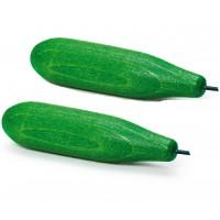 2 x Wooden Cucumber