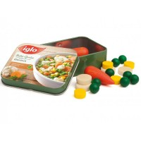 Tin of Wooden Mixed Vegetables