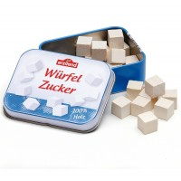Tin of 20 Wooden Sugar Lumps