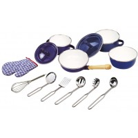 John Crane Tidlo Blue Kitchenware Set