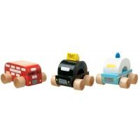Set of 3 First London Vehicles