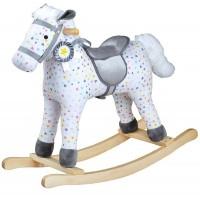 Patterned Rocking Horse