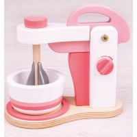 Pink Wooden Food Mixer