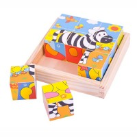 Safari Animals Cube Puzzles
