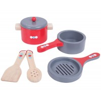 Wooden Cooking Pans Set
