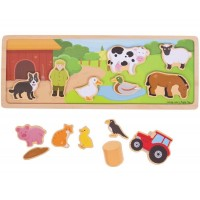 Magnetic Board - Farm