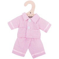 Pink Pyjamas (for 28cm Doll)
