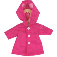 Pink Raincoat (for 28cm Doll)