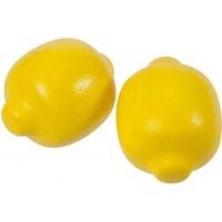 2 x Wooden Lemons