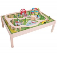 BigJigs Services Train Set and Table