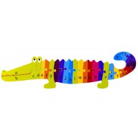 Large Crocodile Alphabet Puzzle