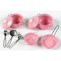 John Crane Tidlo Pink Cookware Set