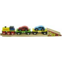BigJigs Rail Car Transporter Train