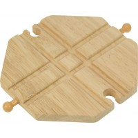 Wooden Train Track - Crossing Plate