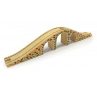 Wooden Train Track - Three Arched Bridge