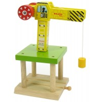 BigJigs Rail Big Yellow Crane