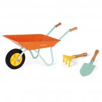 Happy Garden Wheelbarrow with Tools