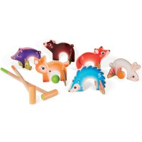 Forest Animals Croquet Set