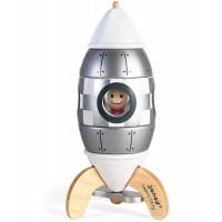 Limited Edition Silver Magnetic Rocket Puzzle