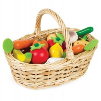 Janod Fruits and Vegetables Basket (24-Piece)