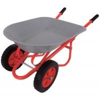 Double Wheel Wheelbarrow