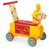 Multi Activity Ride on Wooden Llama