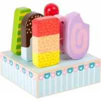 Set of 6 Wooden Ice Lollies