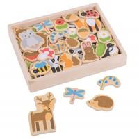 Woodland Magnets Set
