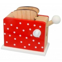 Spotty Red Toaster