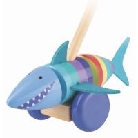 Push Along Shark (Gift Boxed)