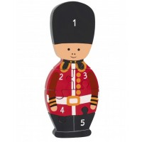 Soldier Wooden Number Puzzle