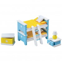 Tidlo Dolls' Child's Bedroom Furniture