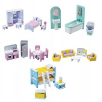 Tidlo Dolls' House Furniture Bundle