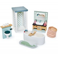 Tender Leaf Toys Dolls Bathroom Furniture Set