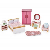 Tender Leaf Toys Dolls Bedroom Furniture Set