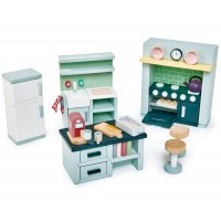Tender Leaf Toys Dolls Kitchen Furniture Set