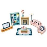 Tender Leaf Toys Dolls Sitting Room Furniture Set
