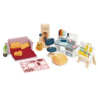 Tender Leaf Toys Dolls Study Furniture Set
