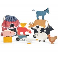 Stacking Wooden Farmyard Puzzle