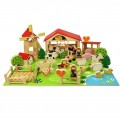 Wooden Play Farm (48 pieces)