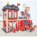 Hape Fire Station Set