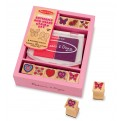 Melissa and Doug Butterfly and Heart Stamp Set
