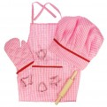 BigJigs Chef Set - Pink